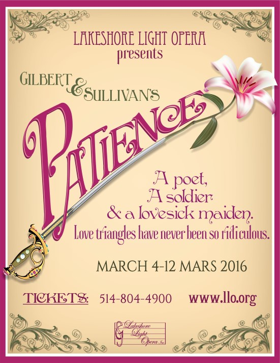 LLO presents Gilbert and Sullivans Patience