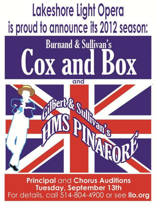 HMS Pinafore and COX and BOX